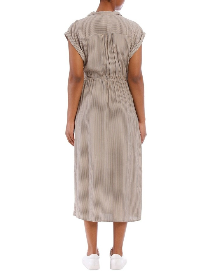 Gaia Wrap Midi Dress image 3