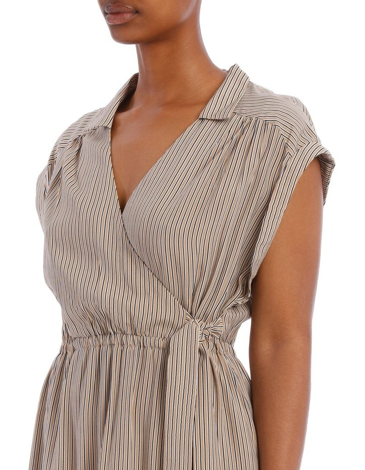 Gaia Wrap Midi Dress image 4