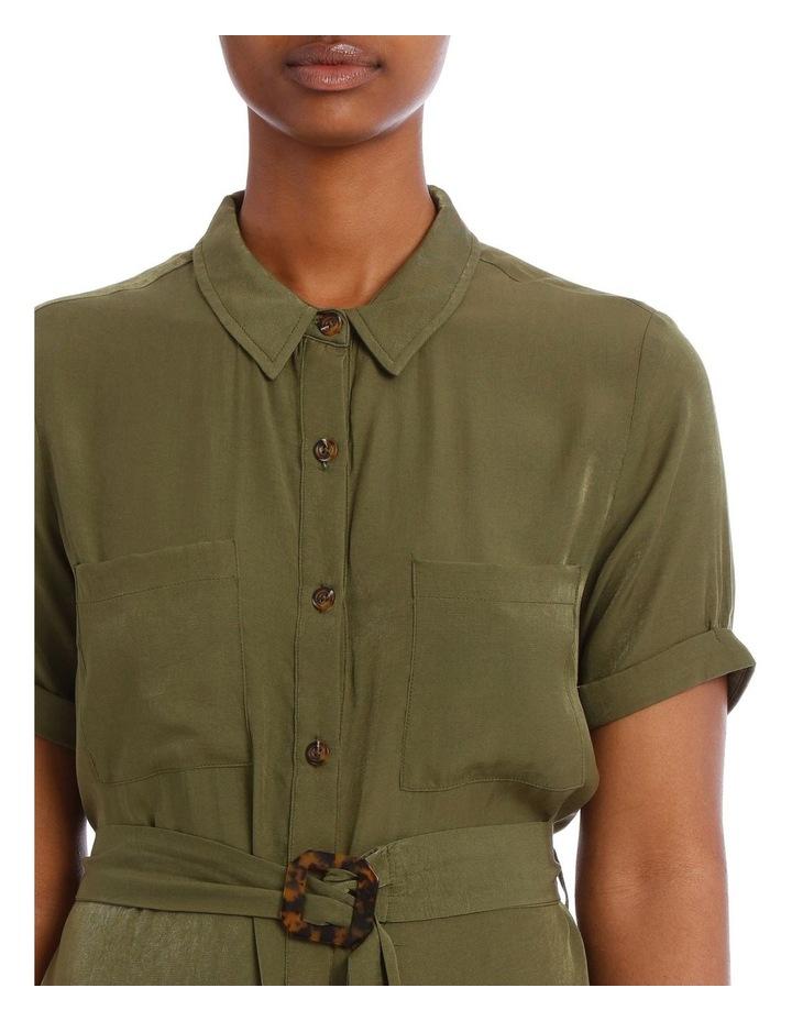 Odyssey Belted Shirtdress image 4