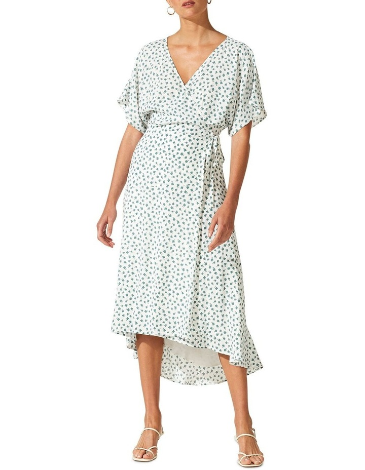 Whisper Wrap Midi Dress image 1