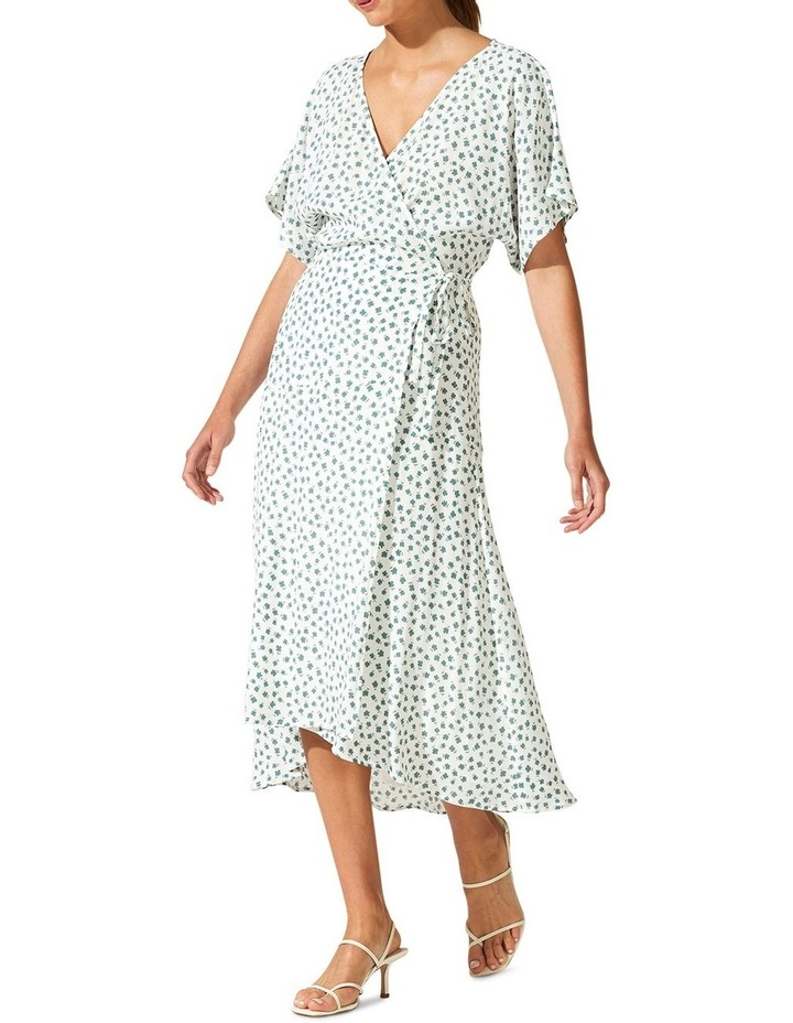 Whisper Wrap Midi Dress image 2