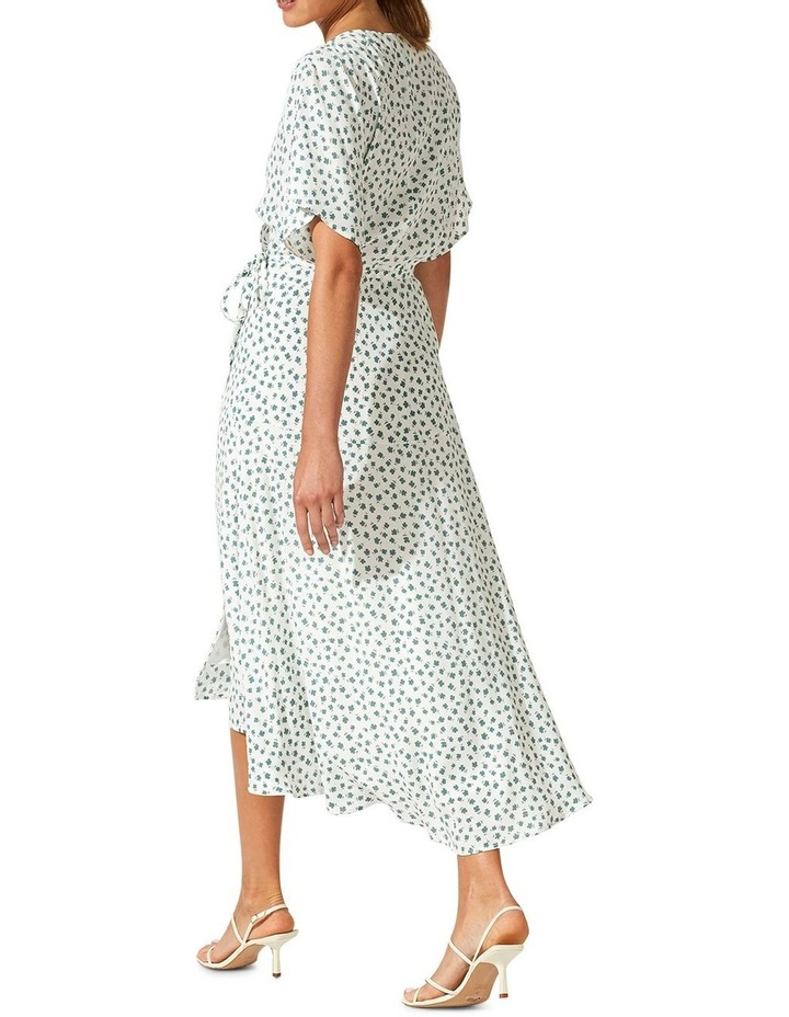 Whisper Wrap Midi Dress image 3
