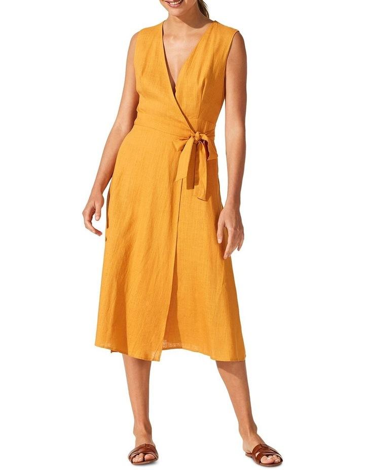 Golden Hour Wrap Dress image 1