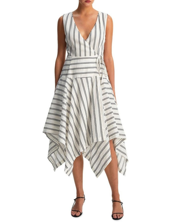 Avenue Wrap Midi Dress image 1