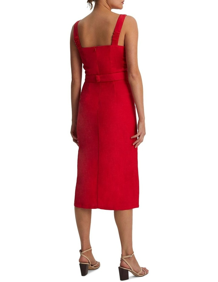 Carmen Belted Midi Dress image 2