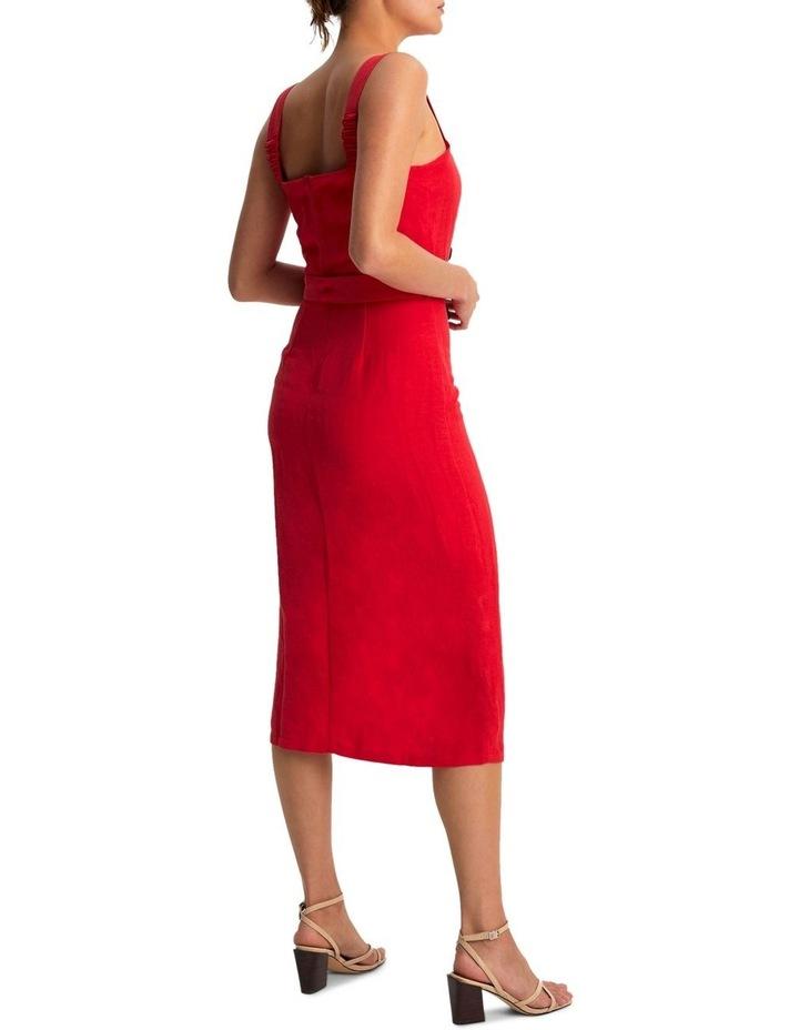 Carmen Belted Midi Dress image 3