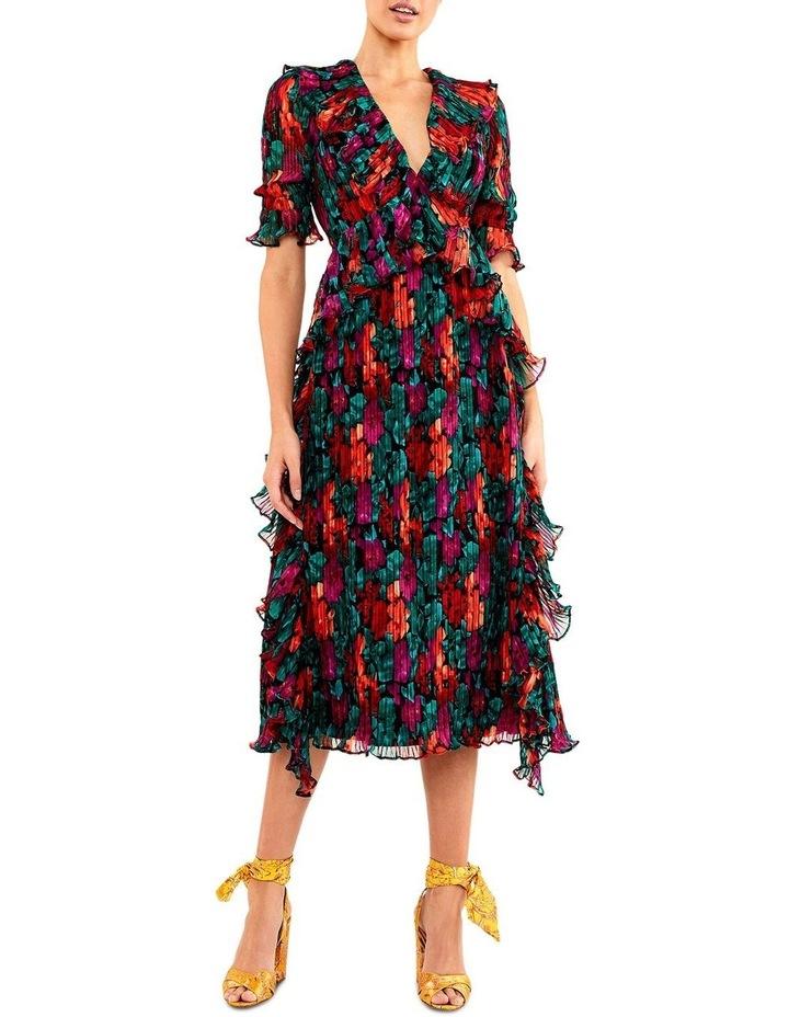 Meditteranian Mix Midi Dress by Talulah