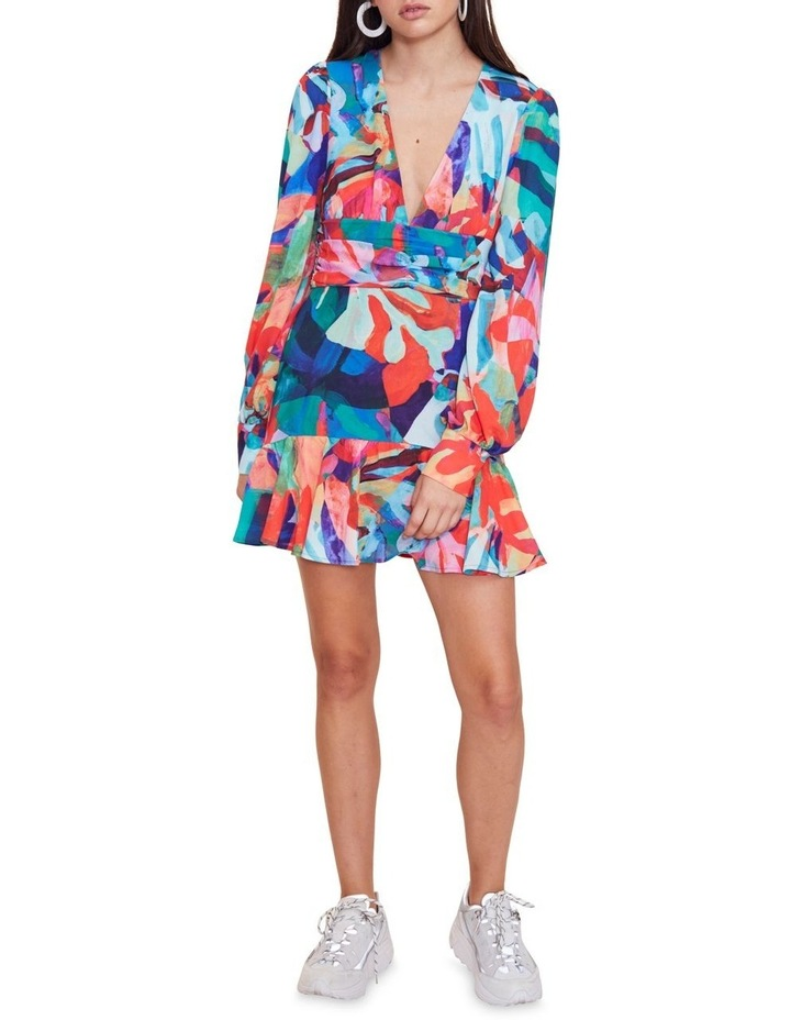 Miami Nights Long Sleeve Mini Dress image 1
