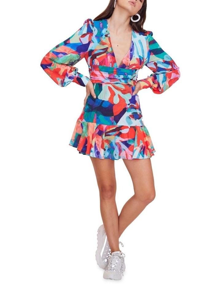 Miami Nights Long Sleeve Mini Dress image 2