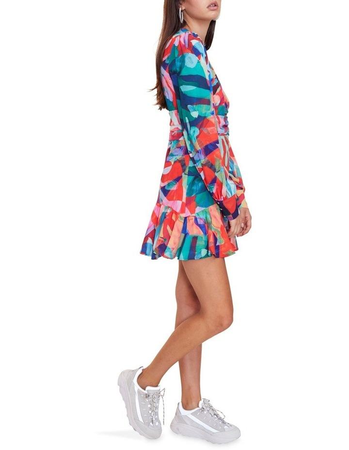 Miami Nights Long Sleeve Mini Dress image 3