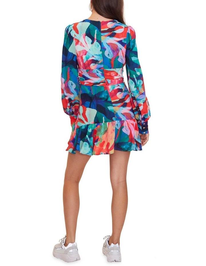 Miami Nights Long Sleeve Mini Dress image 4