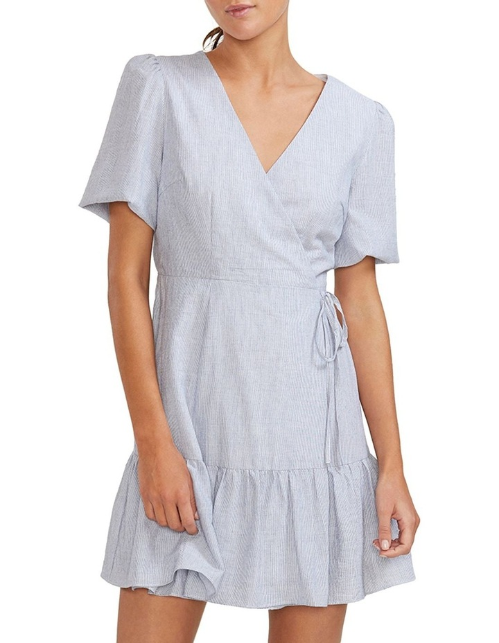 Harper Wrap Mini Dress image 3