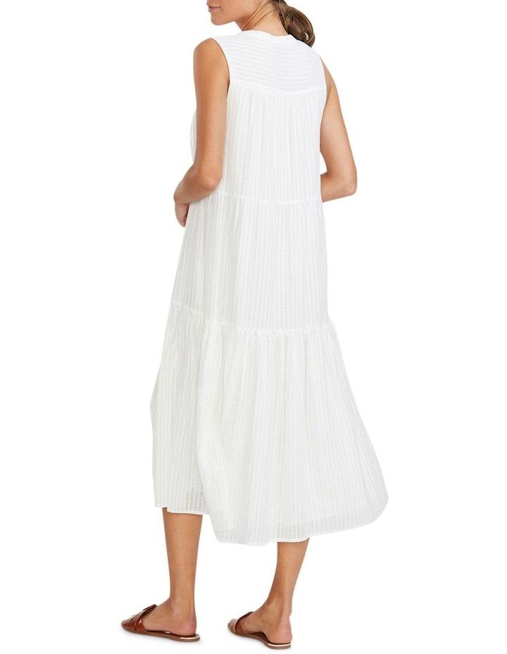 Illusion Tiered Midi Dress image 3