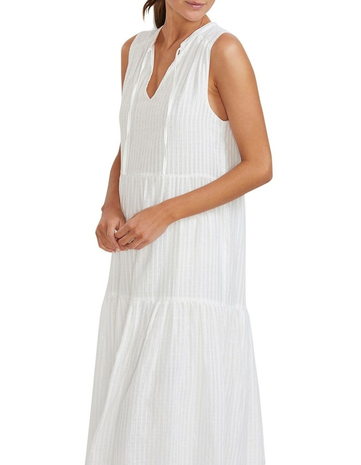 Illusion Tiered Midi Dress image 4