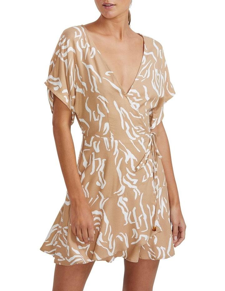 Panama Wrap Mini Dress image 1