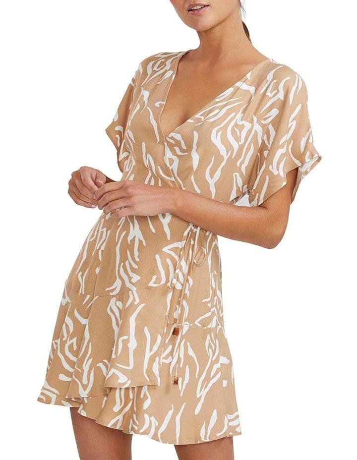 Panama Wrap Mini Dress image 2