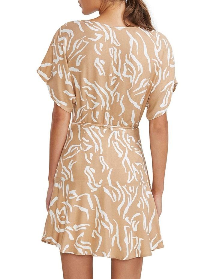 Panama Wrap Mini Dress image 3