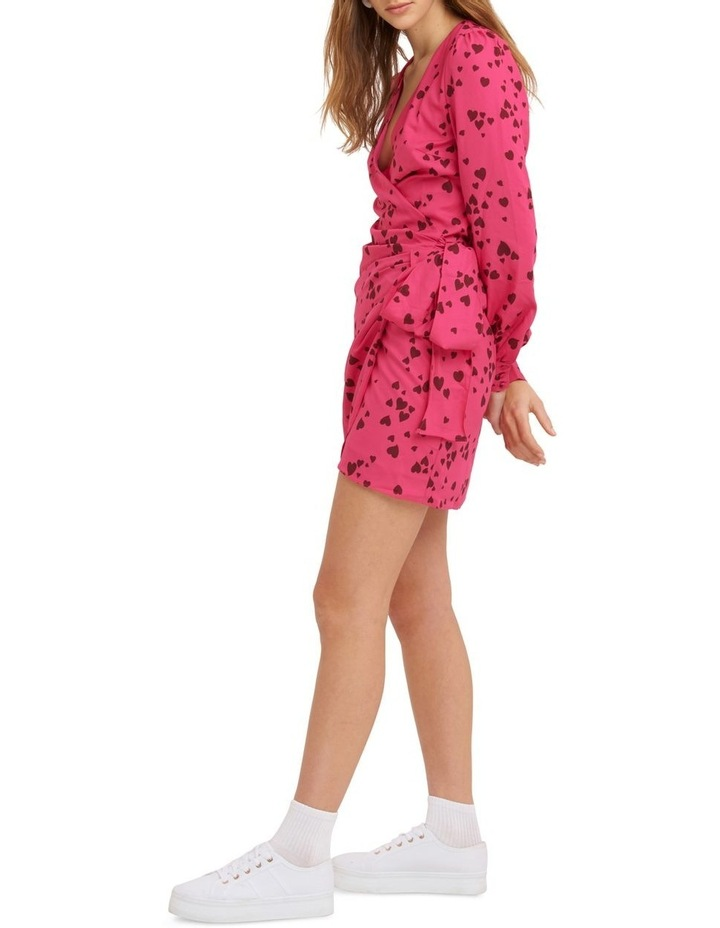 Never Been Kissed Wrap Mini Dress image 2