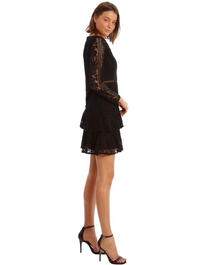 Long Sleeve Ruffled Lace Dress image 2