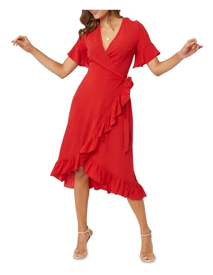 Midi Ruffle Dress image 1