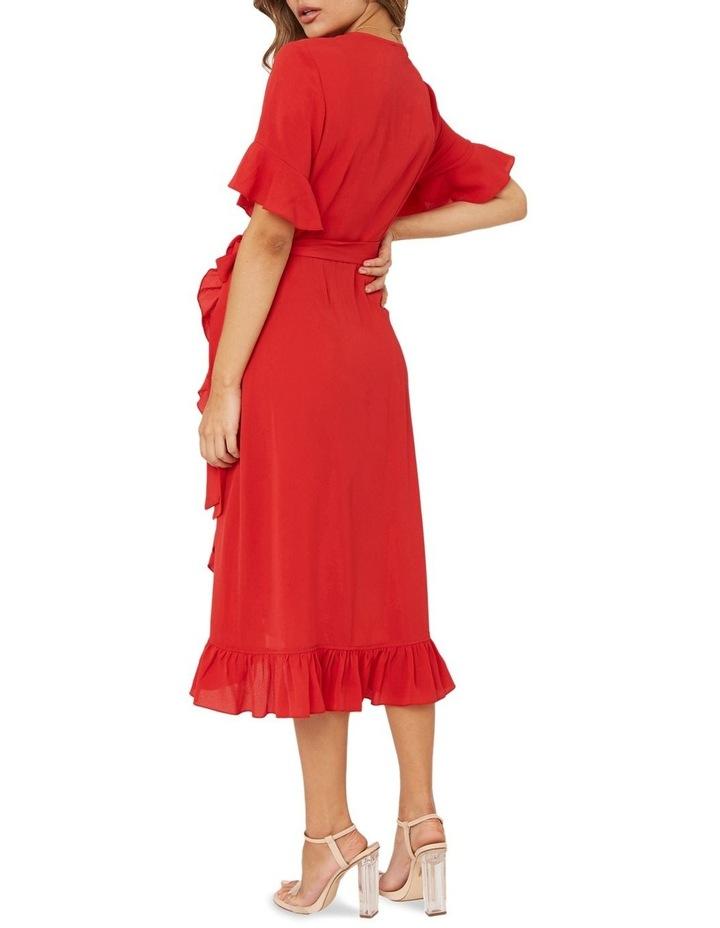 Midi Ruffle Dress image 2