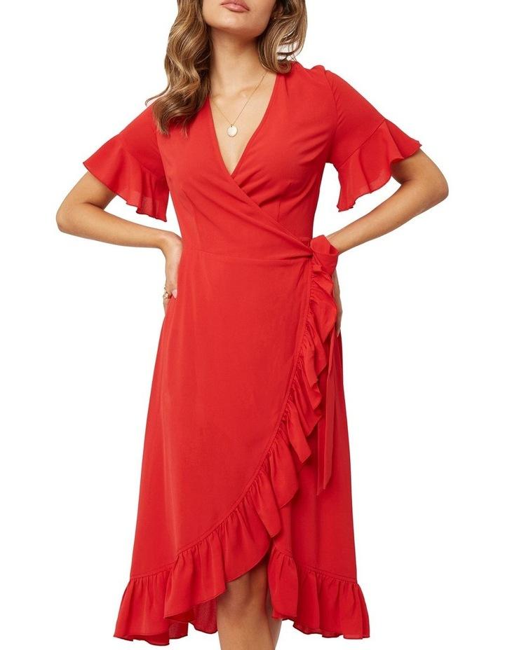 Midi Ruffle Dress image 3