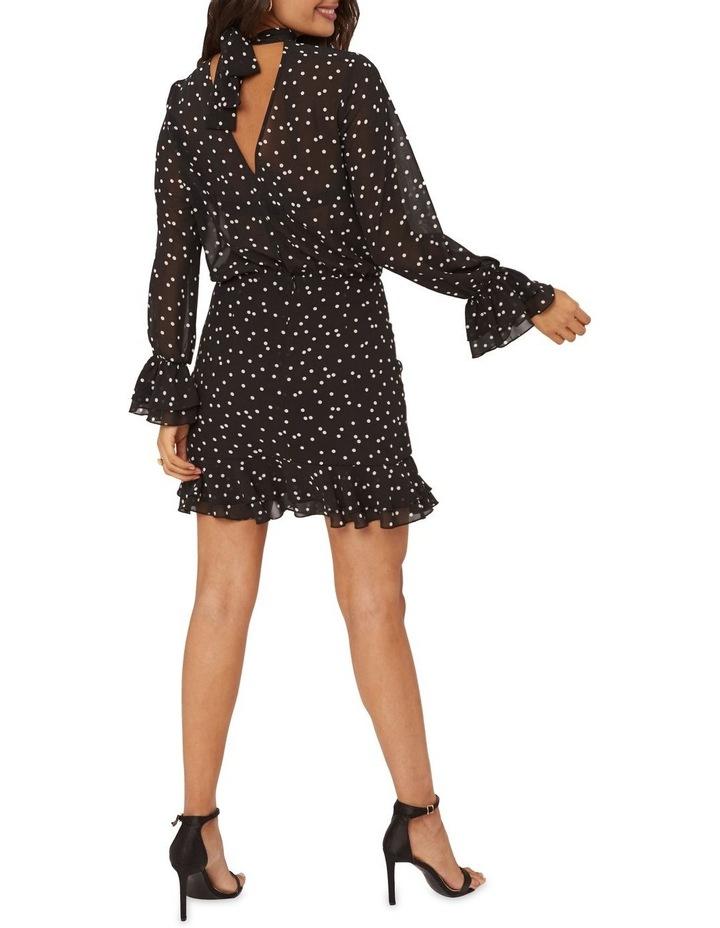 Spotted Chiffon  Dress image 2