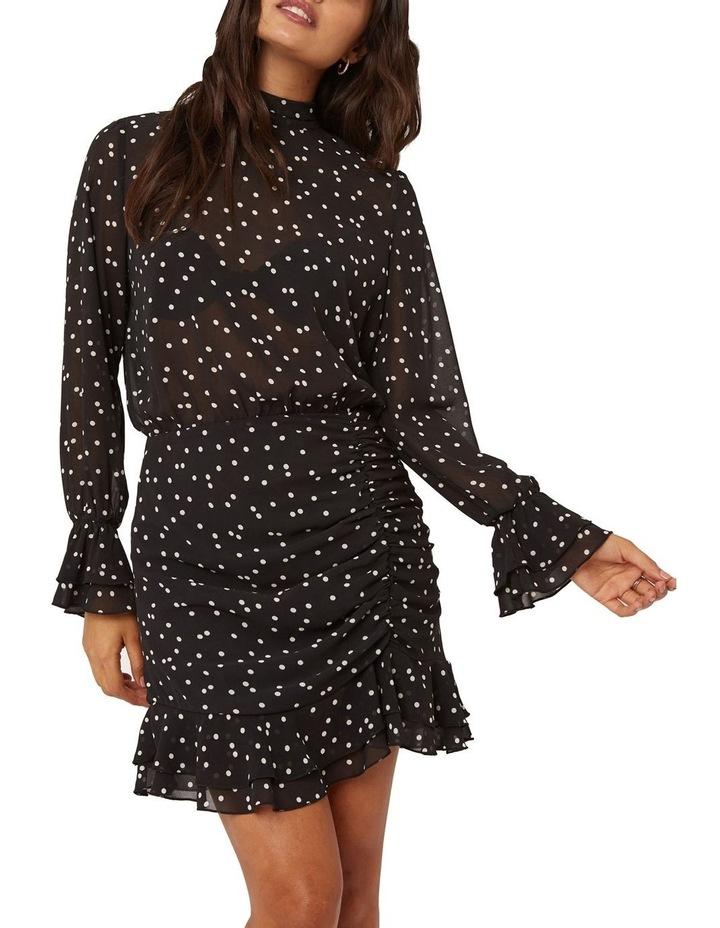 Spotted Chiffon  Dress image 3