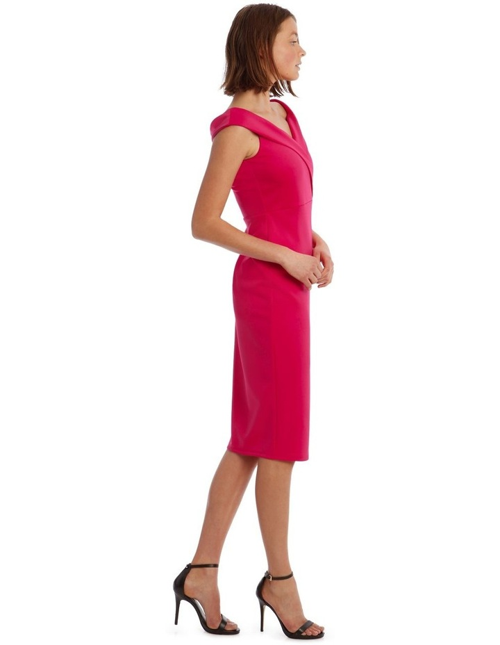 Off shoulder  Fitted Midi image 2