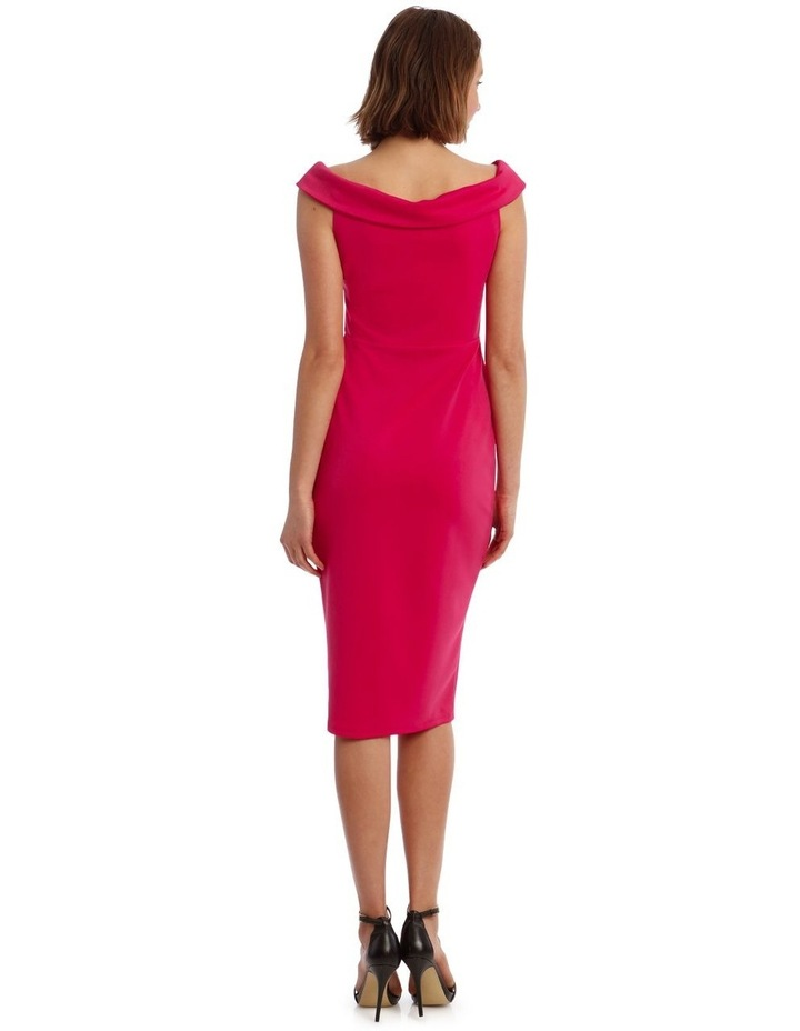 Off shoulder  Fitted Midi image 3