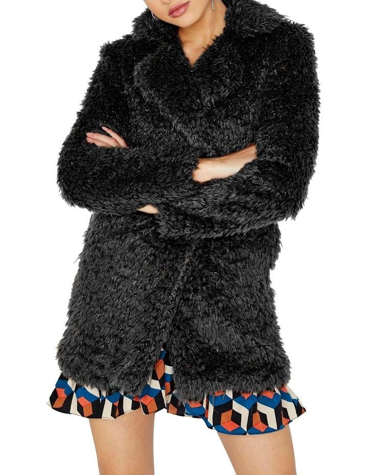 Fluffy Longline Coat image 1