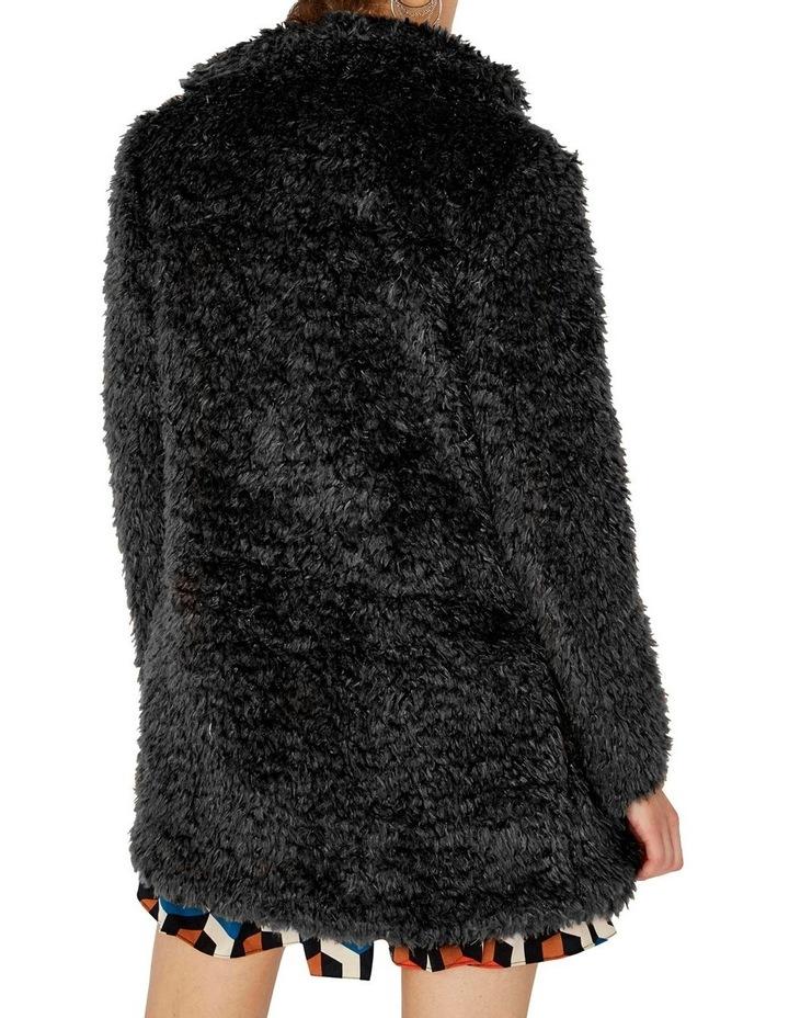 Fluffy Longline Coat image 2