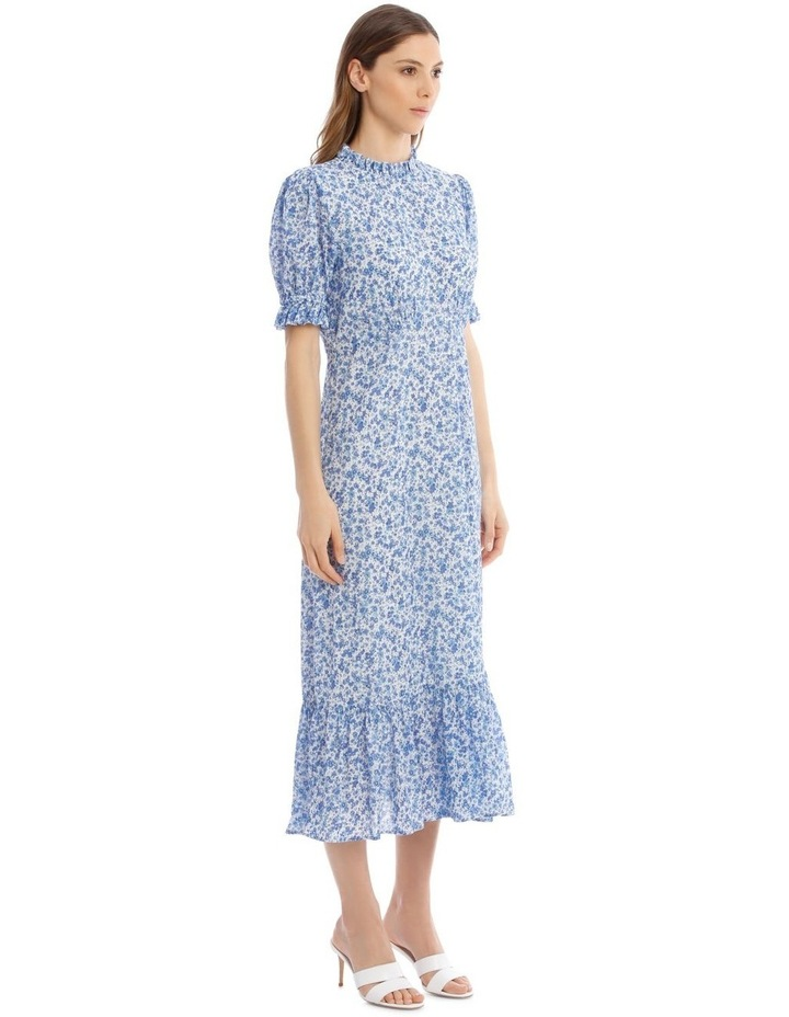 Solene Dress In Blue image 2