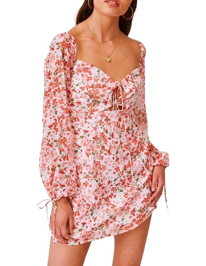 Merci Long Sleeve Midi Dress image 1