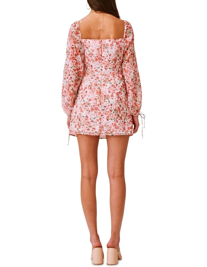 Merci Long Sleeve Midi Dress image 3