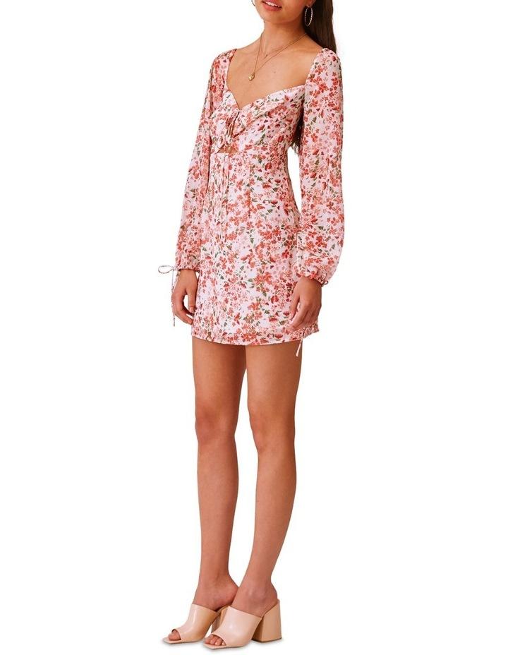 Merci Long Sleeve Midi Dress image 4