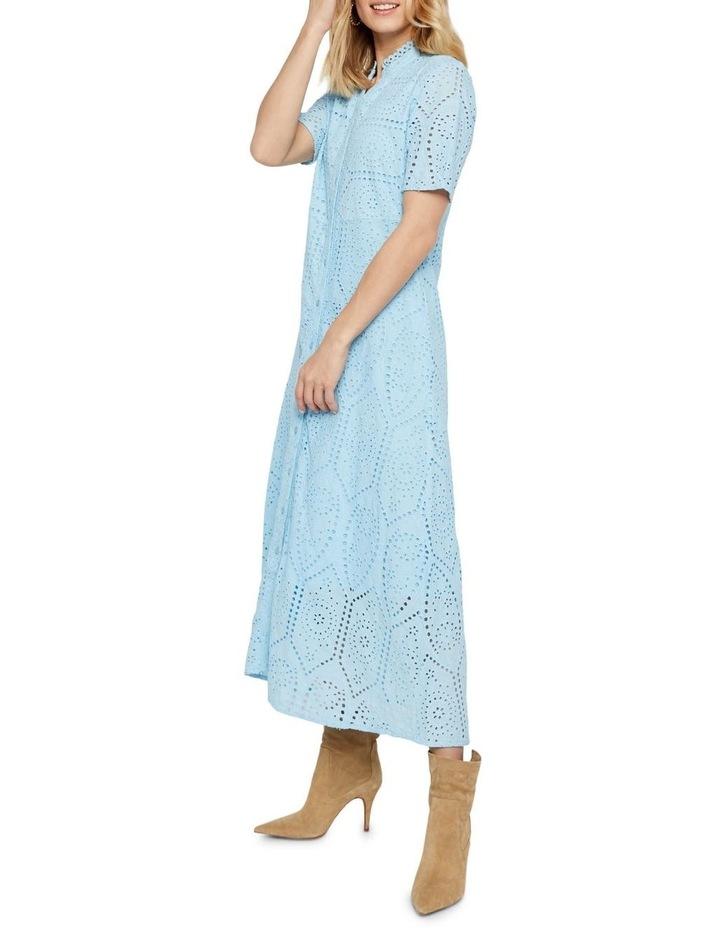 Holi Long Shirt Dress image 3