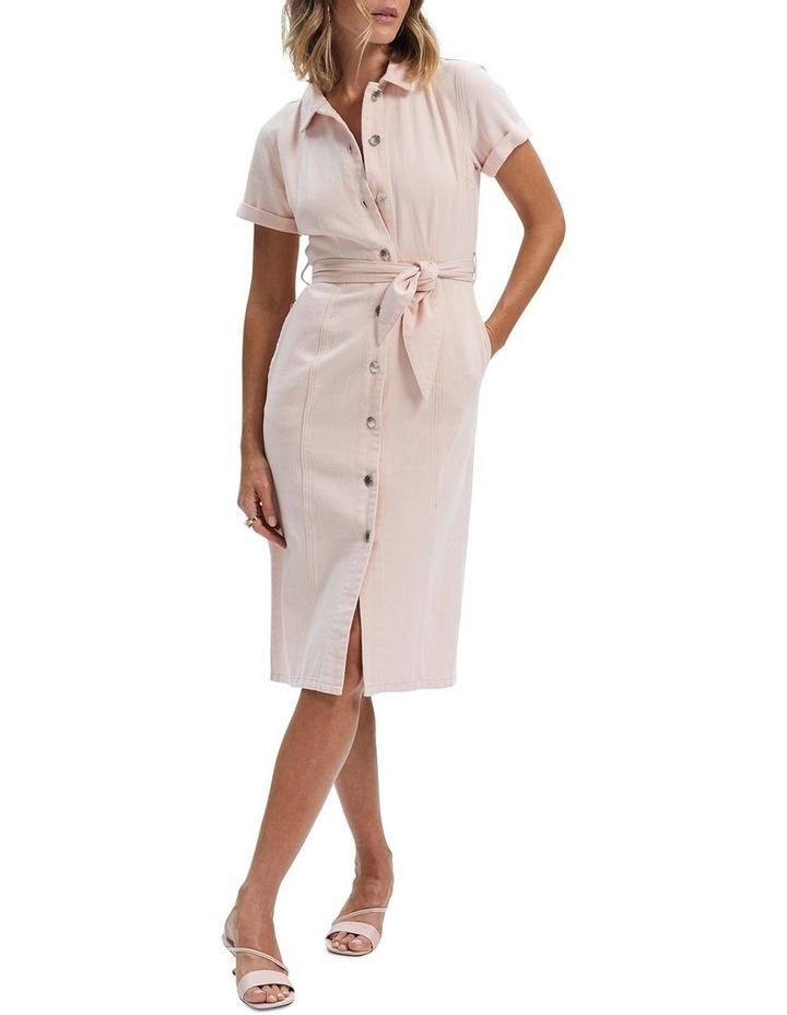 Adeline Denim Midi Dress image 1