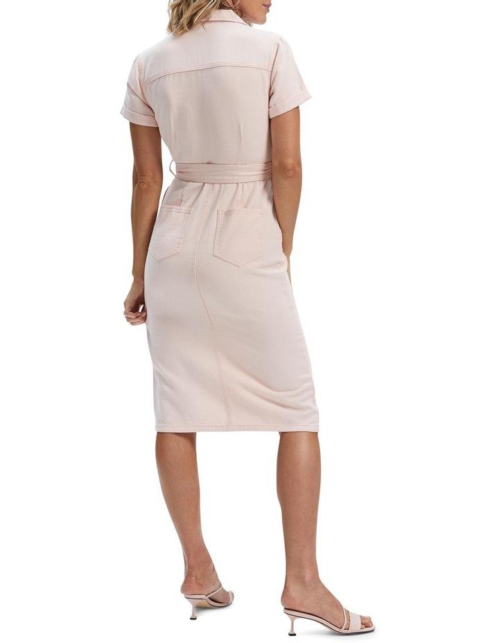 Adeline Denim Midi Dress image 3