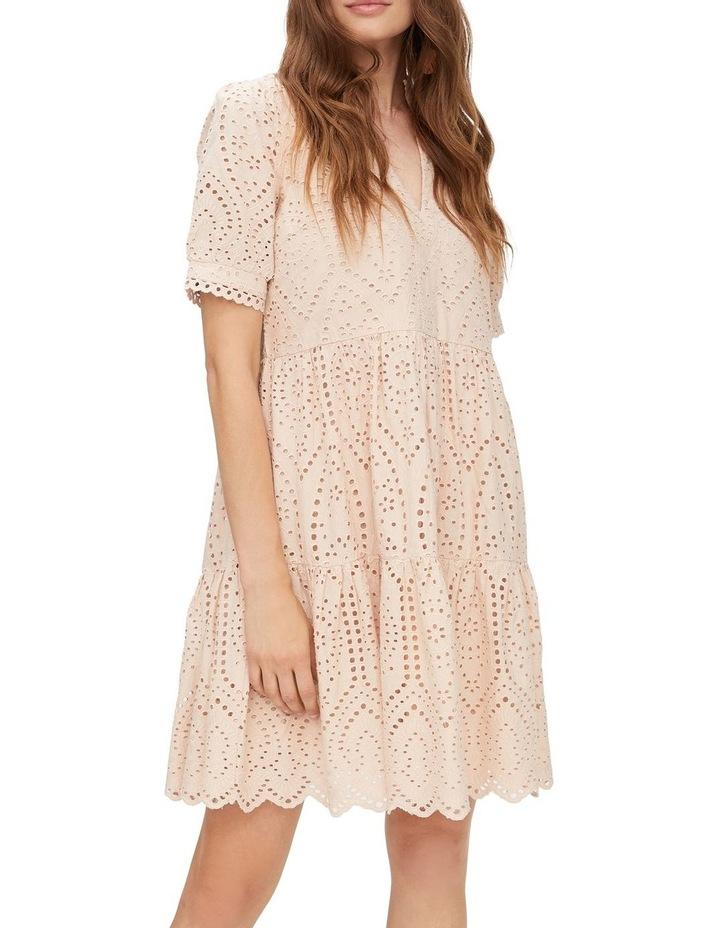 Holi Broderie Mini Dress image 1