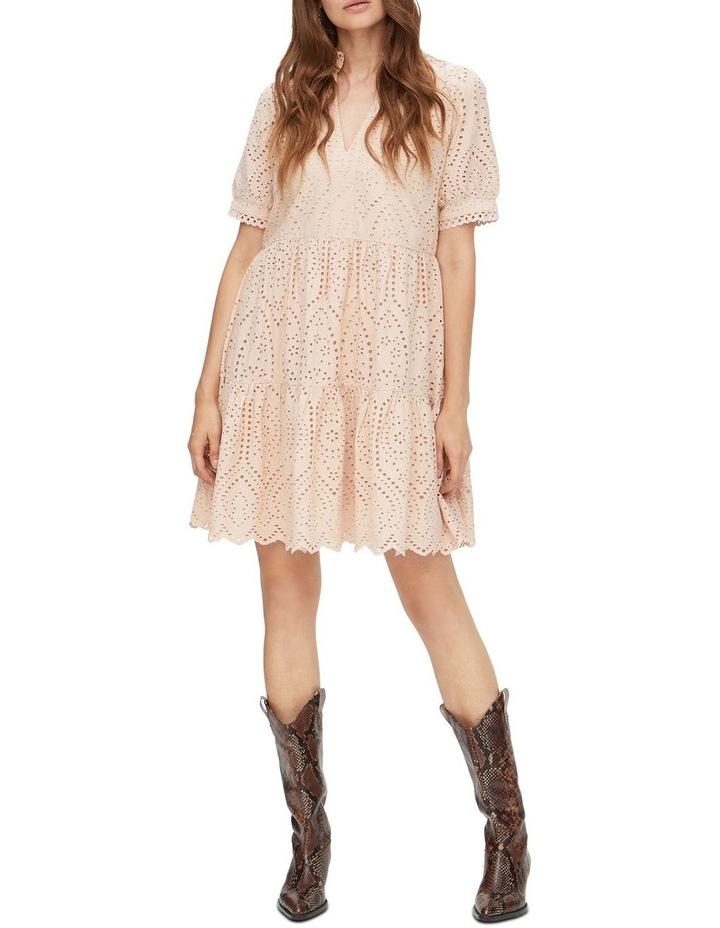 Holi Broderie Mini Dress image 5