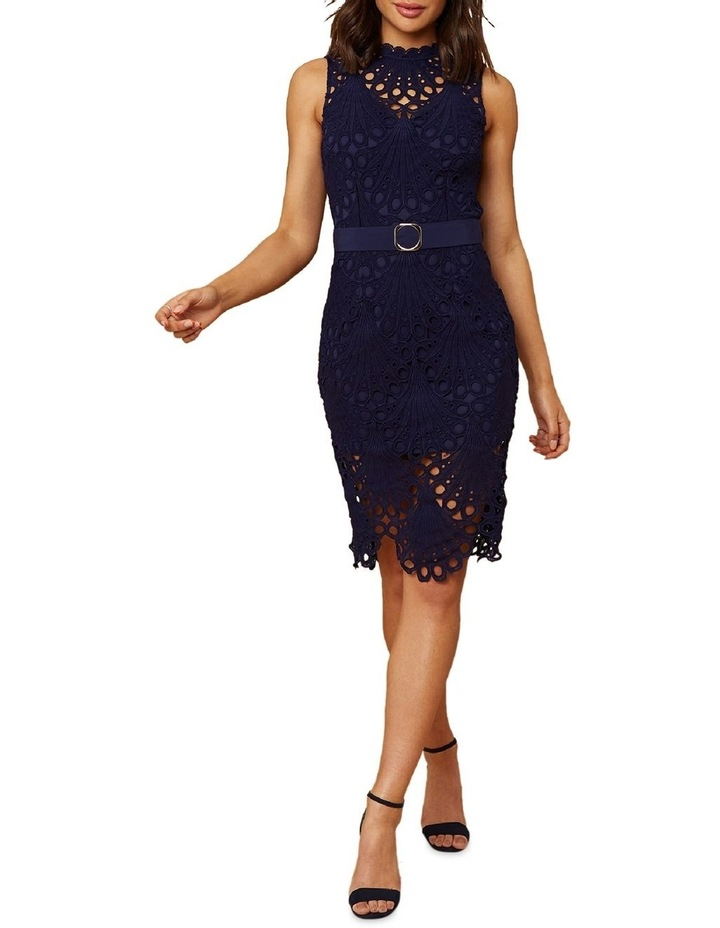 Belted Lace Dress image 3