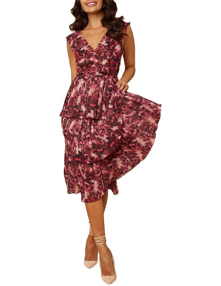 Pink Blossom Tiered Dress image 1
