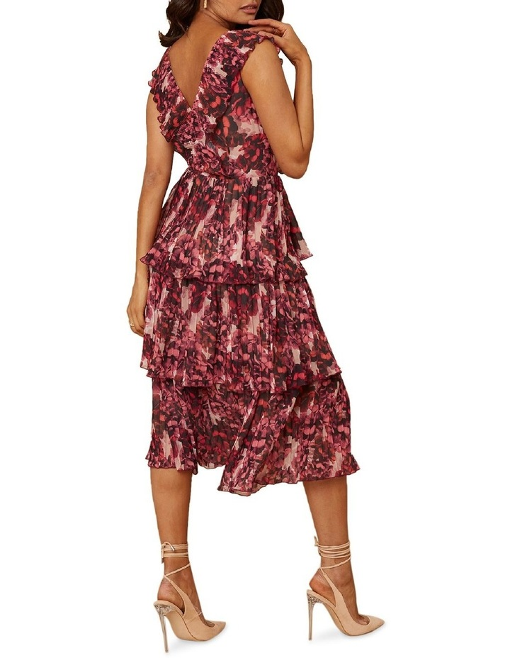 Pink Blossom Tiered Dress image 2