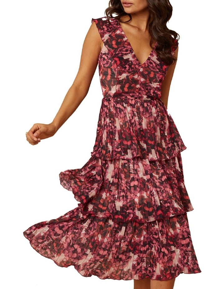 Pink Blossom Tiered Dress image 3