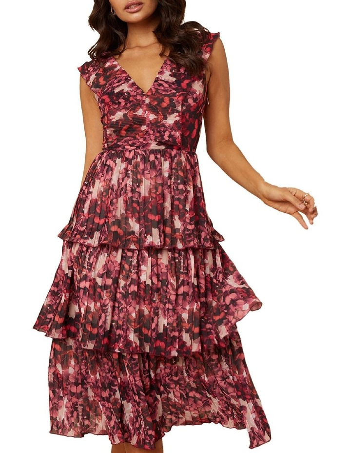 Pink Blossom Tiered Dress image 4