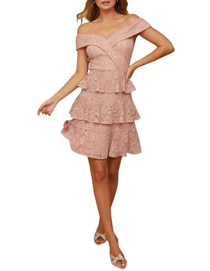 Sweetheart Lace Tiered Dress image 1