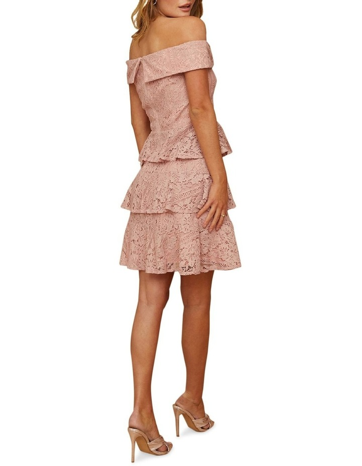 Sweetheart Lace Tiered Dress image 2