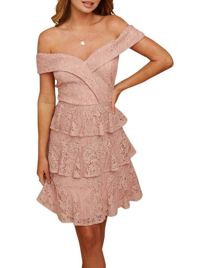 Sweetheart Lace Tiered Dress image 3
