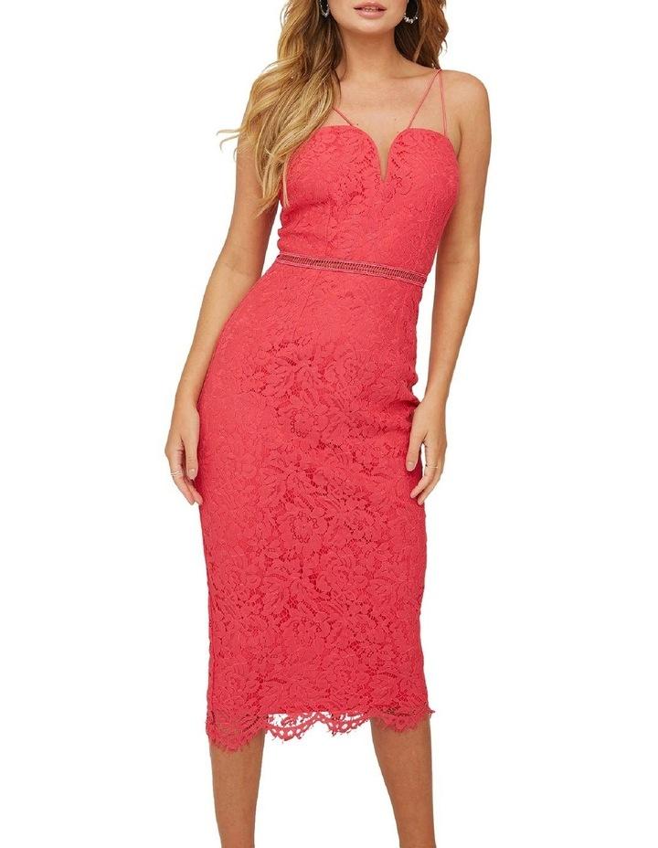 Bralette Strappy Midi Dress image 1